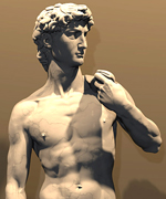 """Il Davide"", Michelangelo one of the most importants Italian engineers, real example of the Old Italian Culture, Tradition, Art and INFINITE design inspiration"